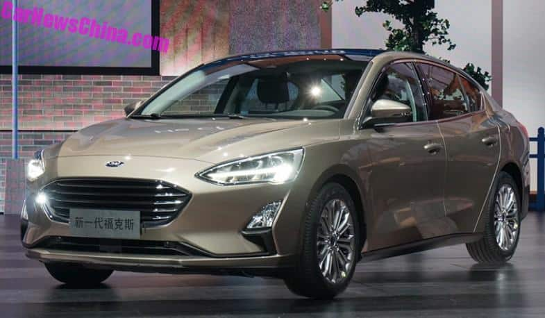 Live Photos Of The New 2019 Ford Focus Carnewschina Com
