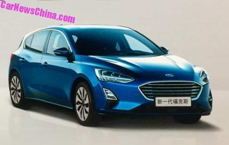 This Is The New 2019 Ford Focus Sedan Carnewschina Com