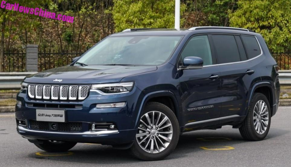 3rd Row Jeep Cherokee >> Jeep Grand Commander To Launch On The Chinese Car Market On April 17 - CarNewsChina.com