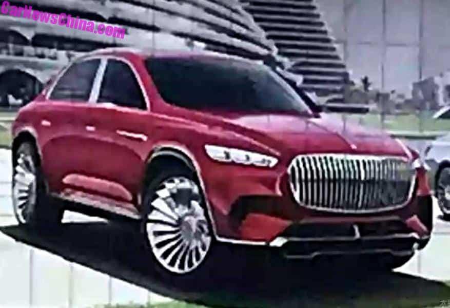 Mercedes Maybach To Launch New Sedan Suv In China Carnewschina Com