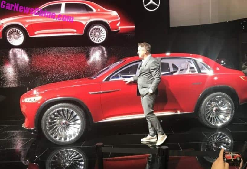 Beijing Auto Show This Is The Controversial Vision Mercedes - Luxury car show 2018