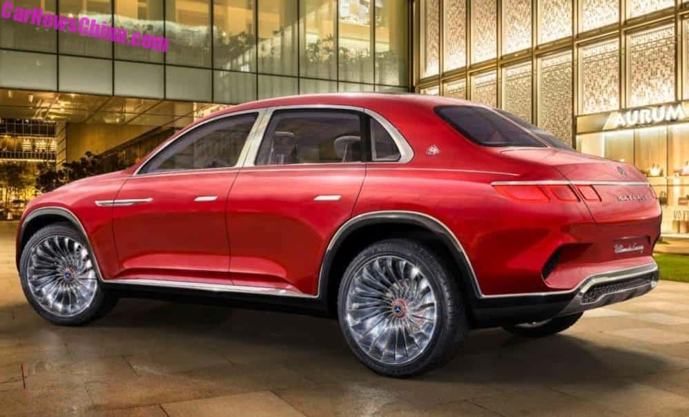 Mercedes-Maybach's Ultimate Luxury concept is a high-riding sedan