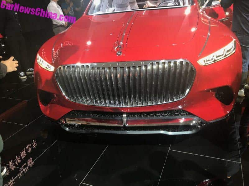 2018 beijing auto show  this is the controversial vision mercedes
