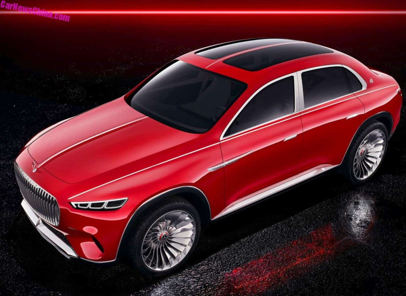 Leaked Photos of the Mercedes-Maybach SUV Concept Leaked