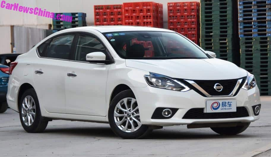 Nissan Sylphy Goes Electric In China Carnewschina Com