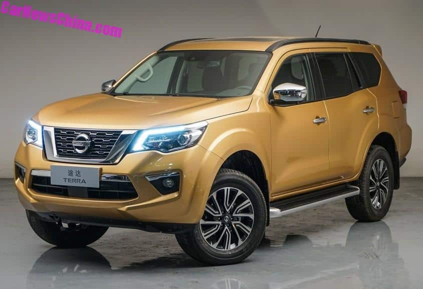 Nissan Terra SUV Will Launch On The Chinese Car Market On ...