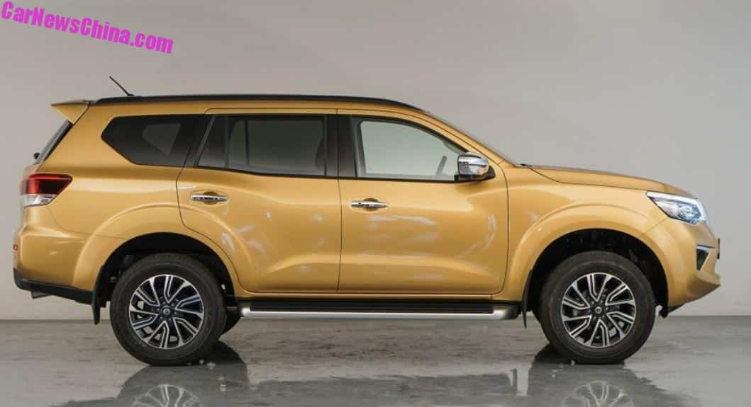 Nissan Terra SUV Will Launch On The Chinese Car Market On