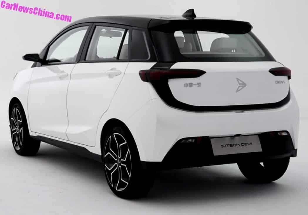 SiTech Is A New EV Brand From China And This Is Their First Car ...