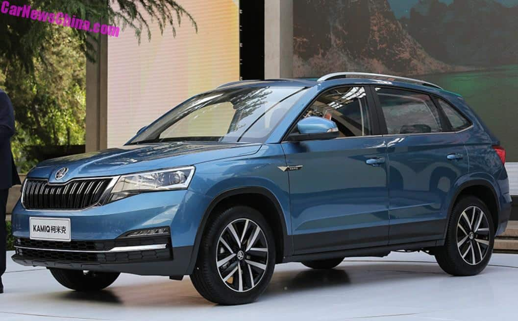 This Is The New Skoda Kamiq Crossover For China