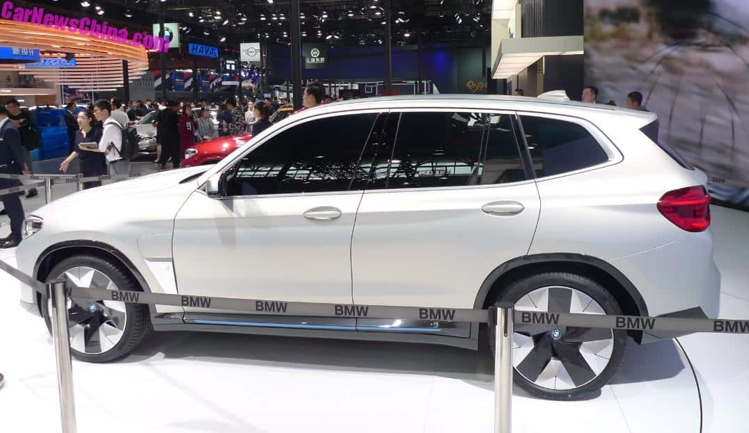 BMW iX3 To Launch In China In 2020, Export To North America And