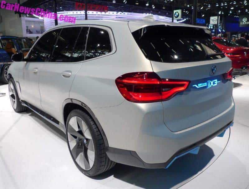 Bmw Ix3 To Launch In China In 2020 Export To North