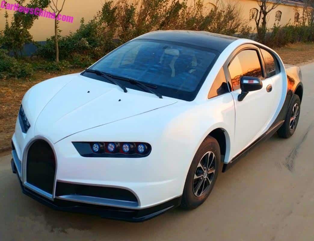 Bugatti Chiron Gets LSEV'ed In China - CarNewsChina.com