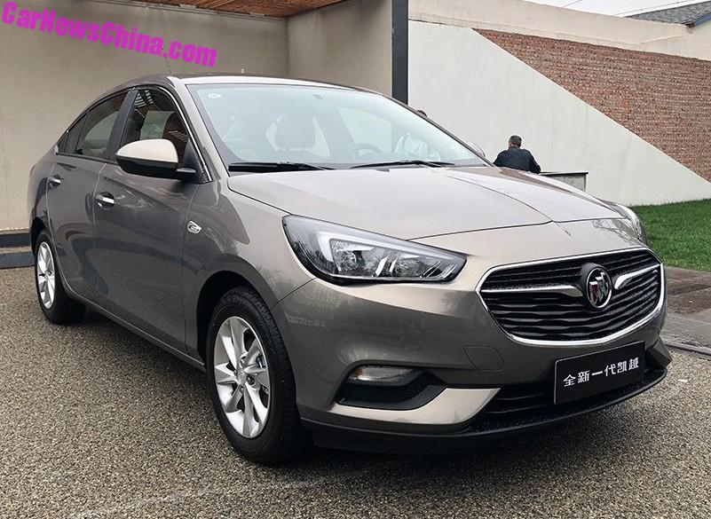 more on the new buick excelle sedan for china - carnewschina