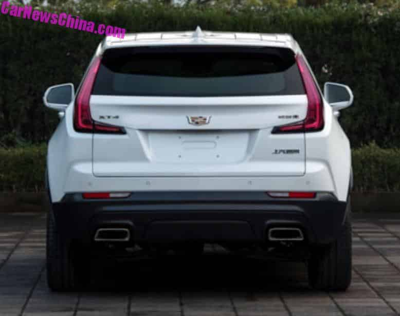 this is the china made cadillac xt4 suv. Black Bedroom Furniture Sets. Home Design Ideas