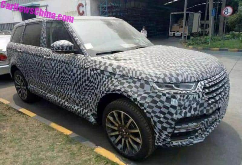 Zotye Range Rover Ripoff