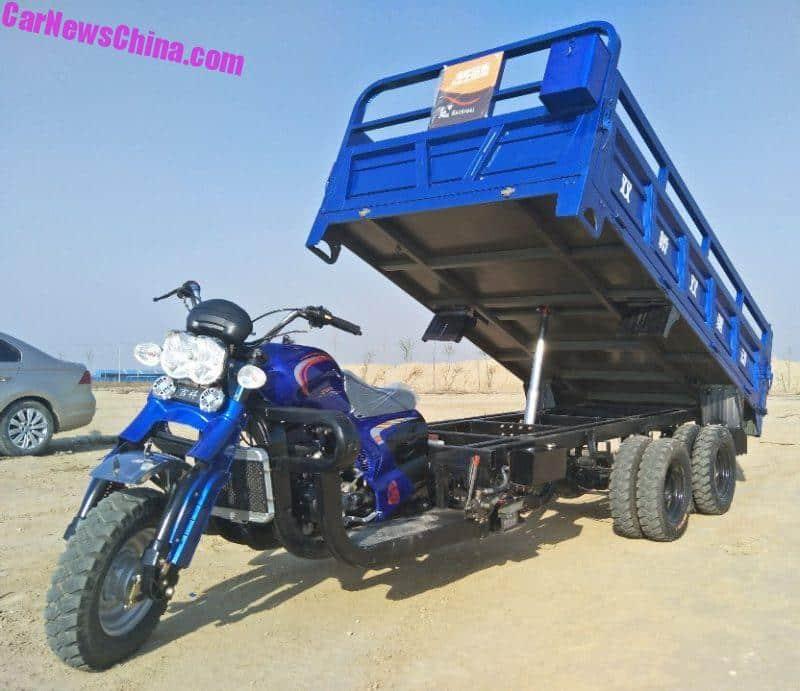 Tri Axle Мотоцикл Самосвал