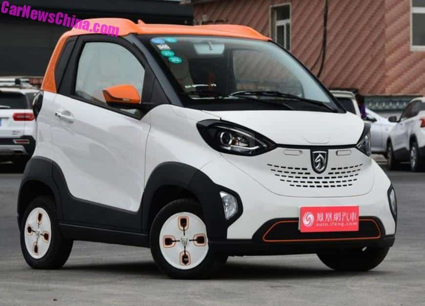 Baojun Makes A Series Of Perfectly Decent Petrol Ed Cars Next To That They Make Electric Their First Baby Was The