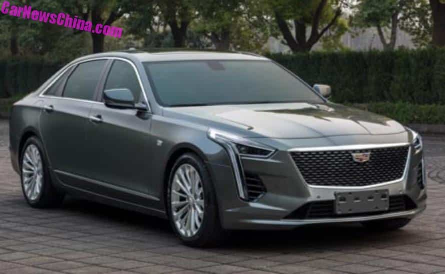 New Car Updates >> This Is The China-spec 2019 Cadillac CT6 - CarNewsChina.com