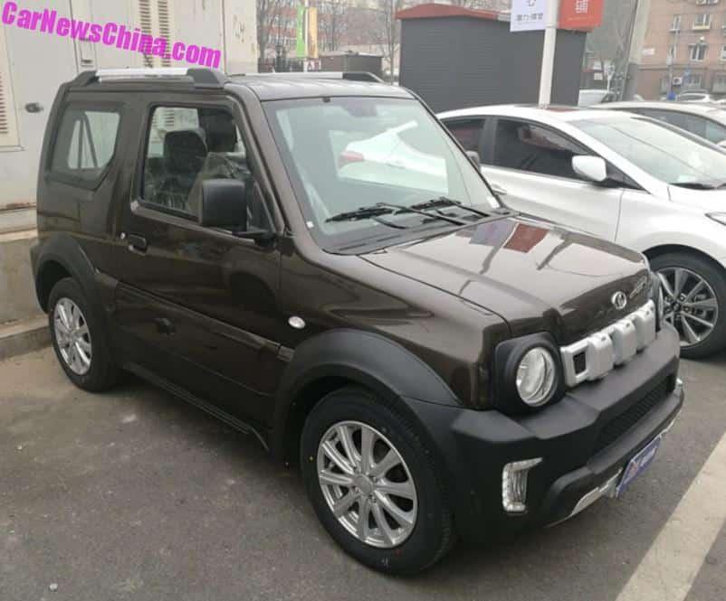 Suzuki Jimny Gets LSEV'ed In China - CarNewsChina com