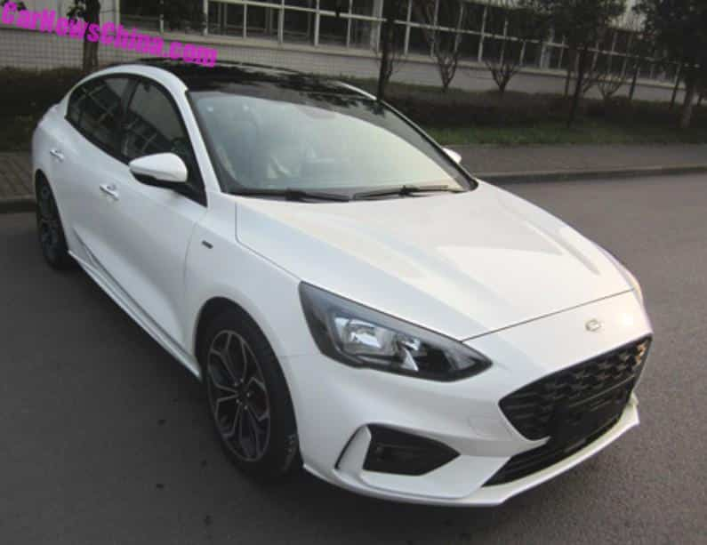 this is the production version of the china made 2019 ford focus rh carnewschina com