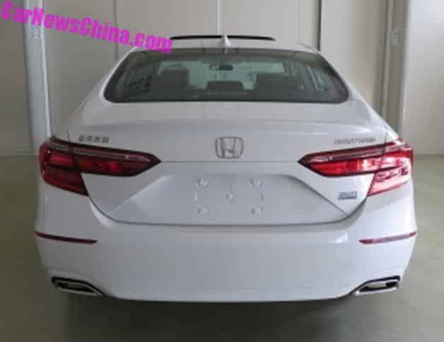 This Is The New Honda Inspire For China Carnewschina Com