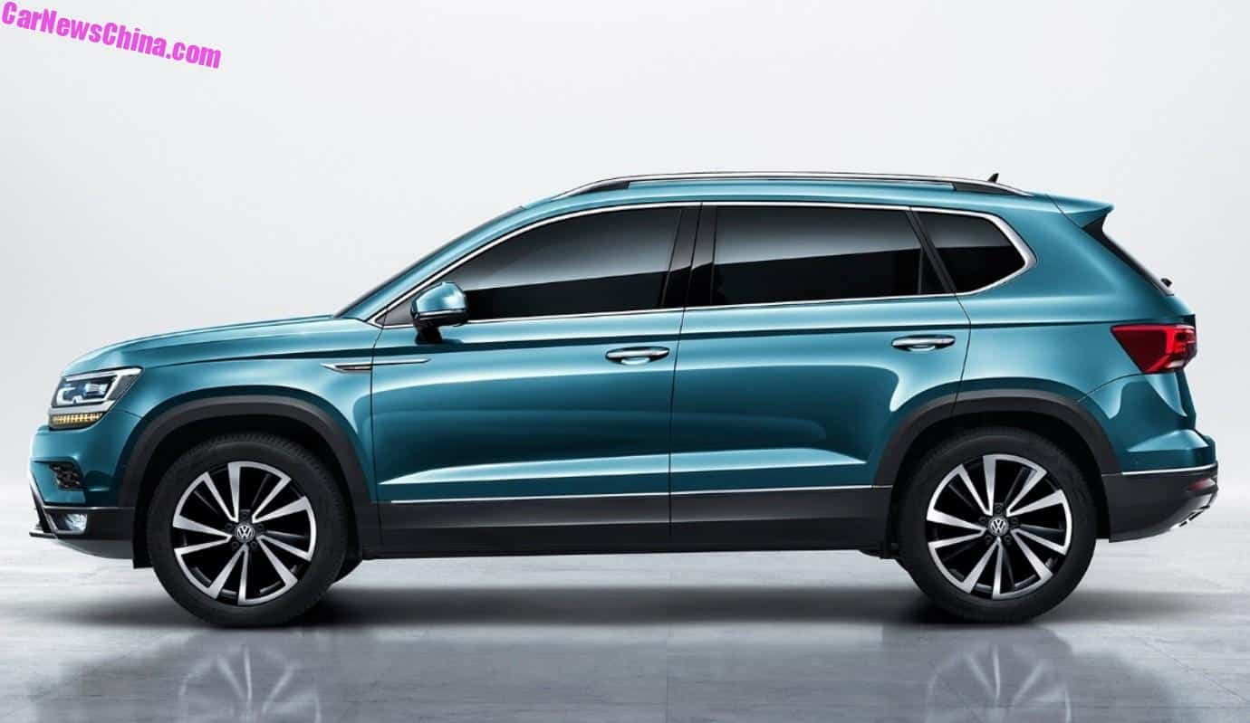 official images   volkswagen tharu suv  china carnewschinacom