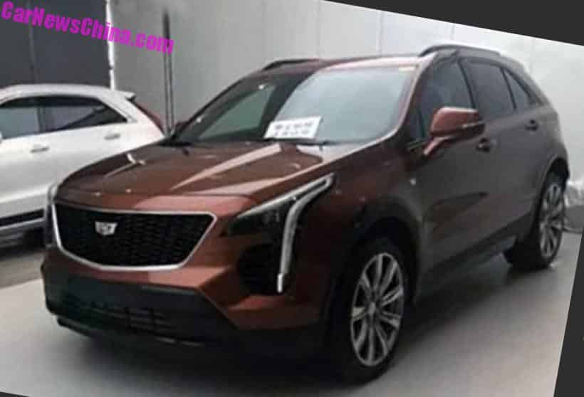 New Photos Of The China-made Cadillac XT4 SUV ...