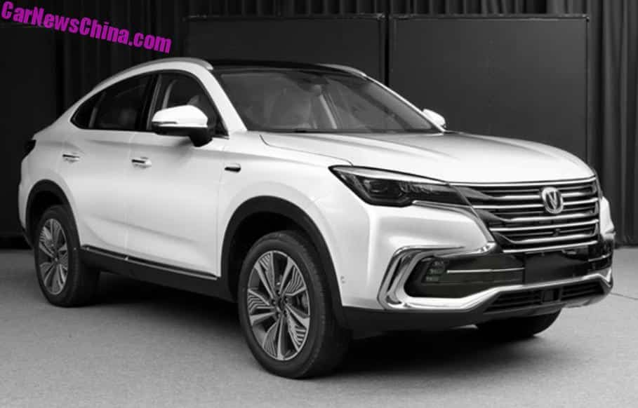 2 Door Cars 2018 >> The Changan CS85 Is Yet Another SUV-Coupe For China - CarNewsChina.com