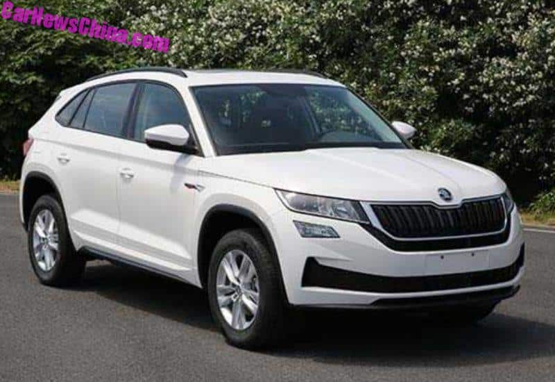 this is the skoda kodiaq gt suv coupe. Black Bedroom Furniture Sets. Home Design Ideas