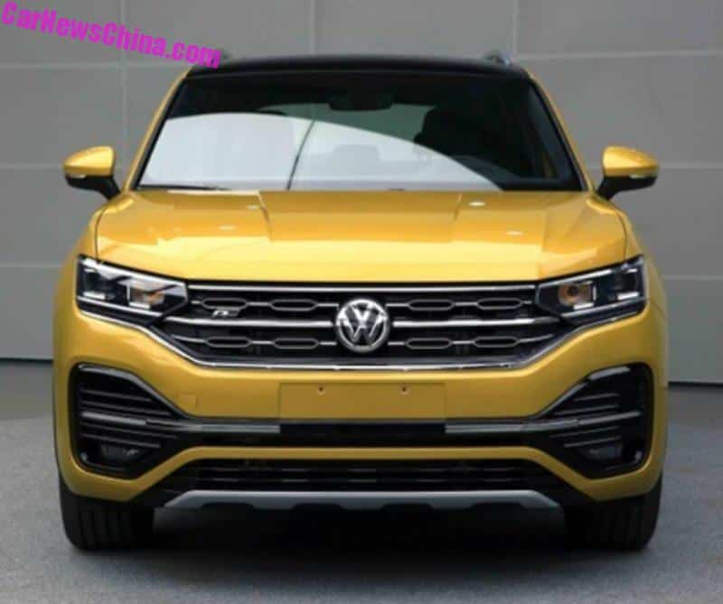 More Photos Of The New Volkswagen Tayron SUV For China