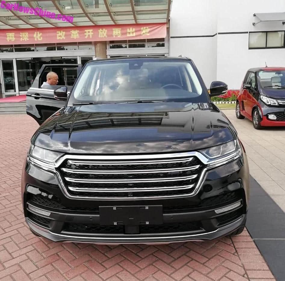 China Copies The Range Rover Sport