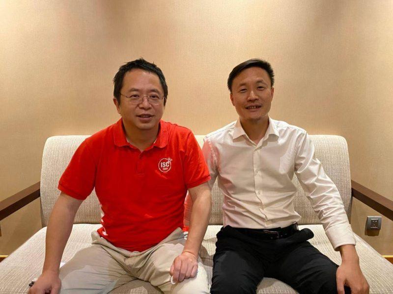 360 Qihu and Hozon CEOs