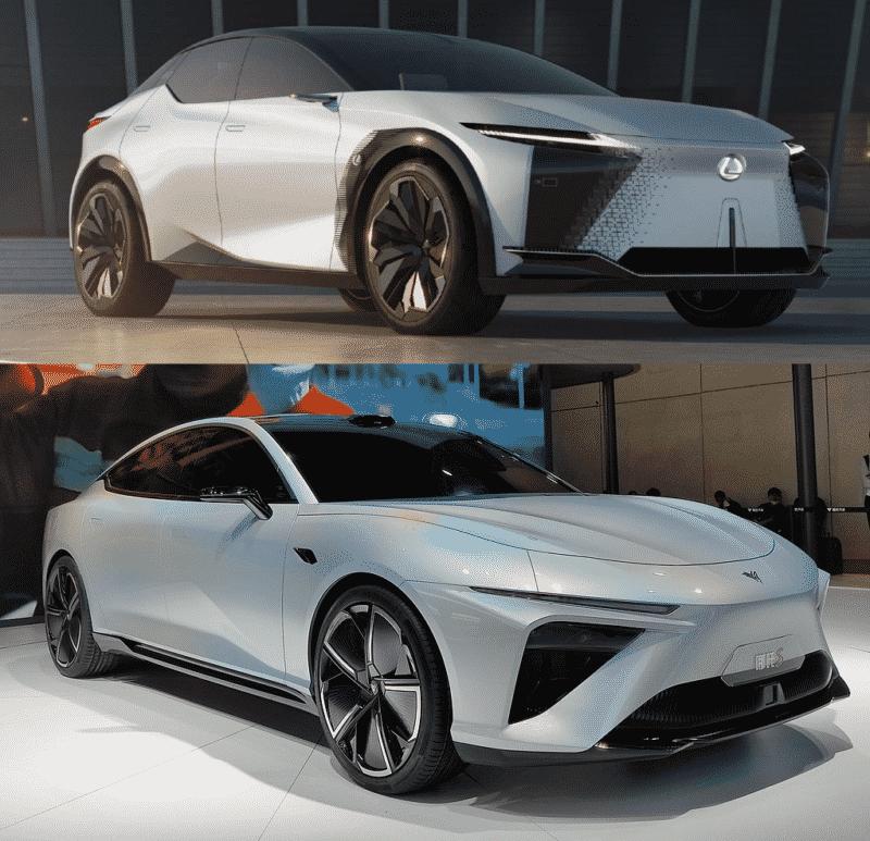 Lexus IF-Z vs Neta S