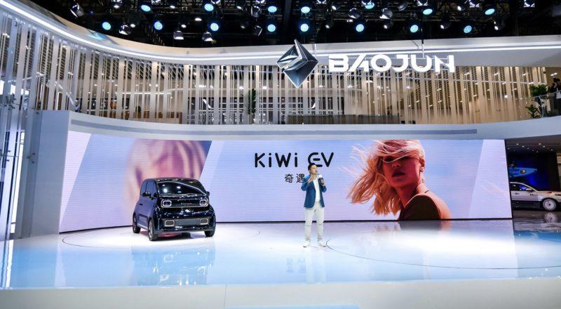Wuling Hongguang EV Mini and DJI