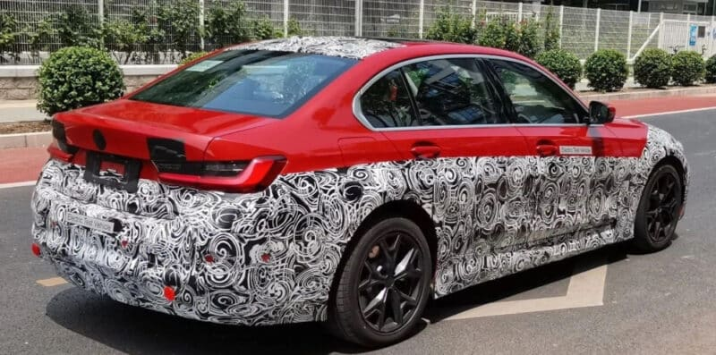 Pure electric BMW based on Series 3