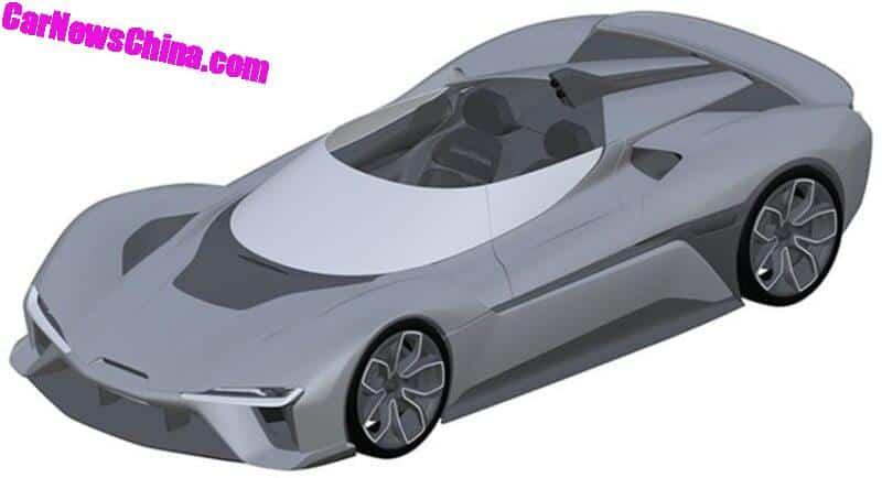 NIO EP9 Roadster