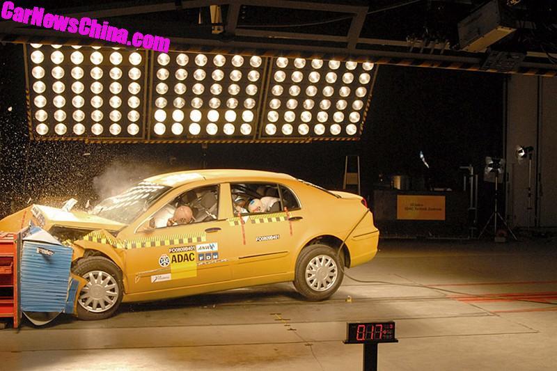 Brilliance BS4 crash test
